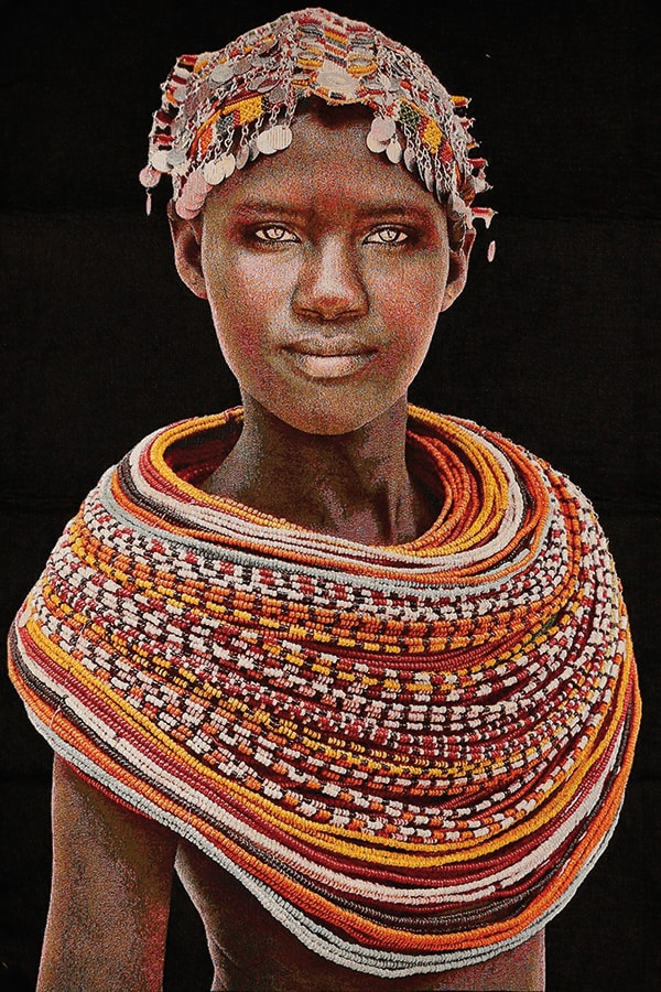 ГОБЕЛЕН SAMBURU GIRL - BLACK